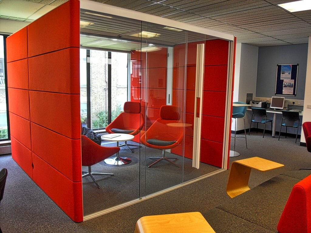 The Pod at Croydon Health The Pod at Croydon Health Services Library image ©2015 cubecolour Library image ©2015 cubecolour